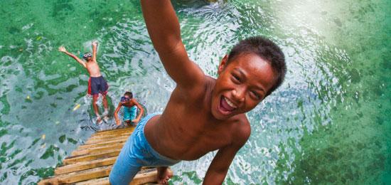 Samoa family holiday