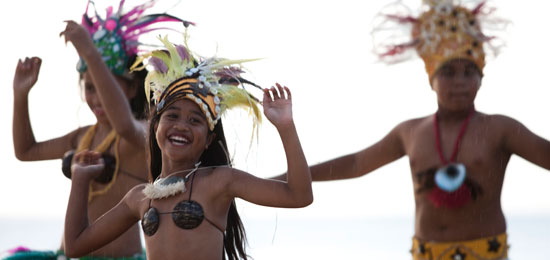 cook islands family holiday