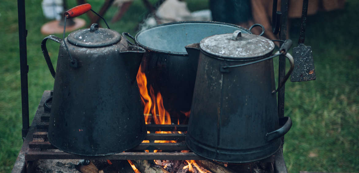 Best camping podcasts: cooking