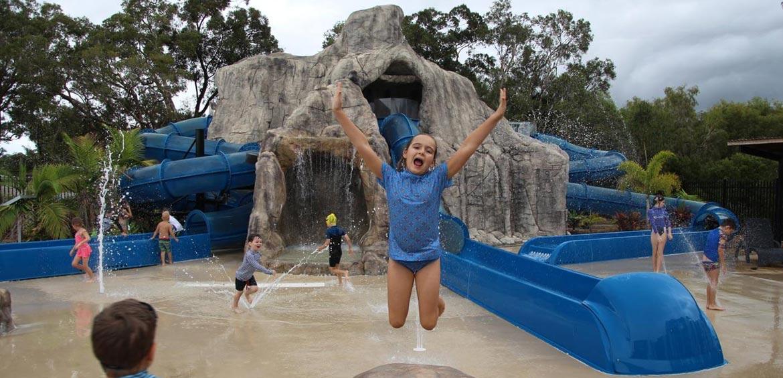 BIG4 Tweed Billabong holiday park water park