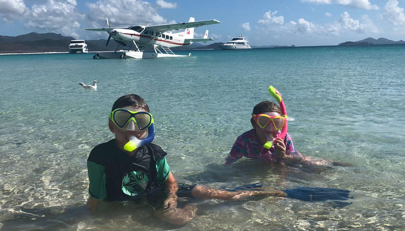 hamilton island snorkelling