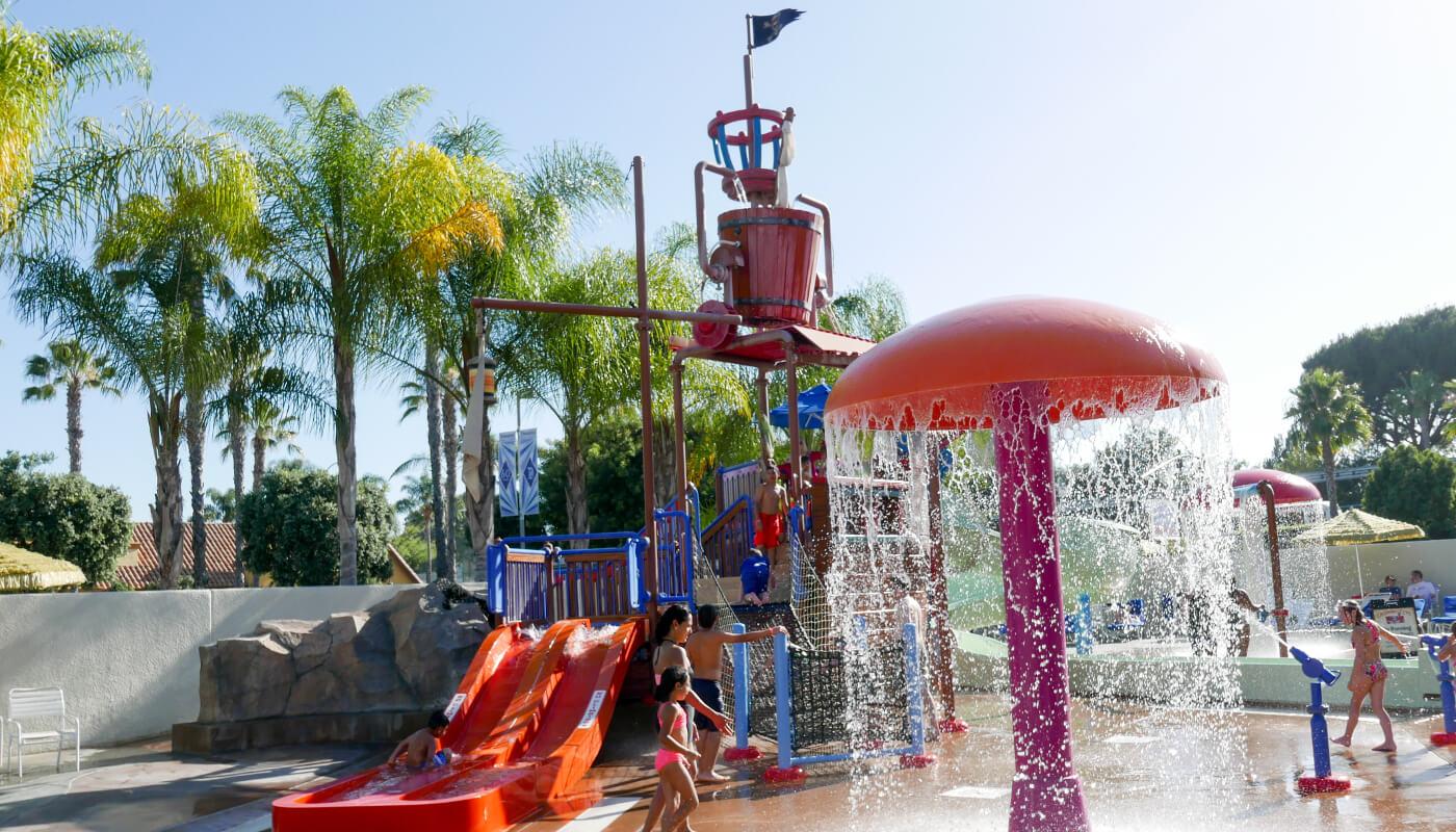 The Howard Johnson Anaheim Hotel & Water Playground