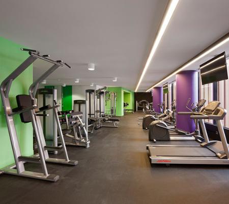 Gym at The Sebel Residences Melbourne Docklands